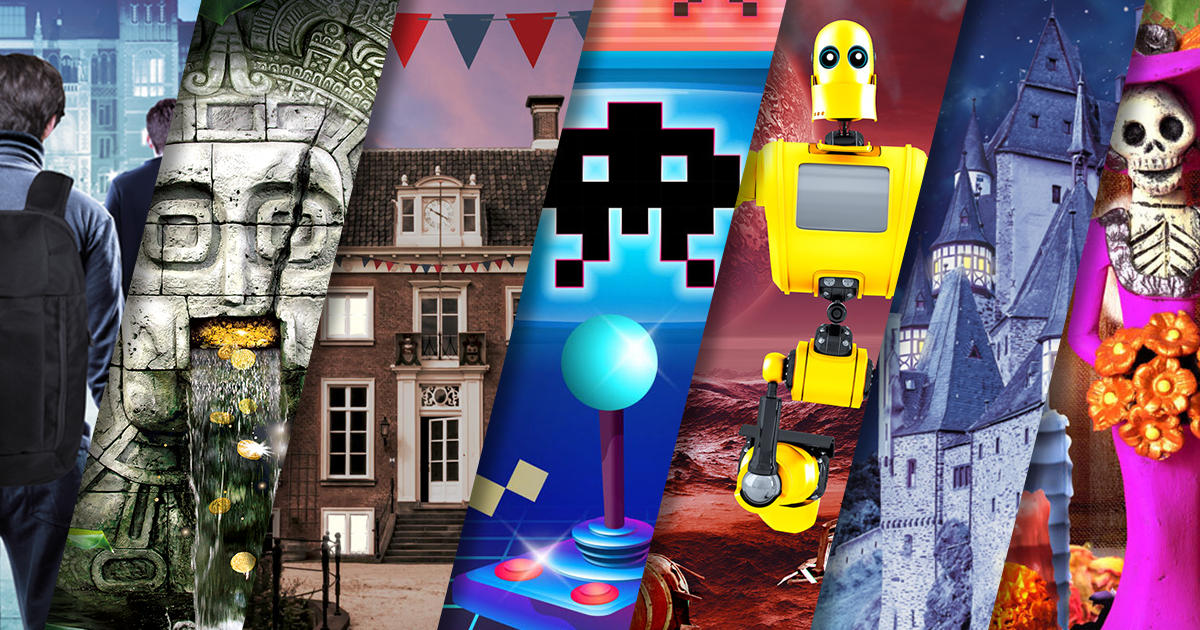 7 jeux Print and Play d'Escape Hunt
