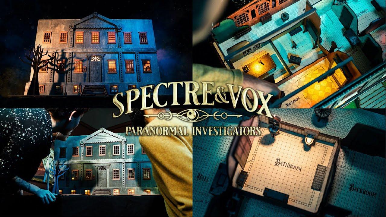 spectre & vox escape game en 3D anglais