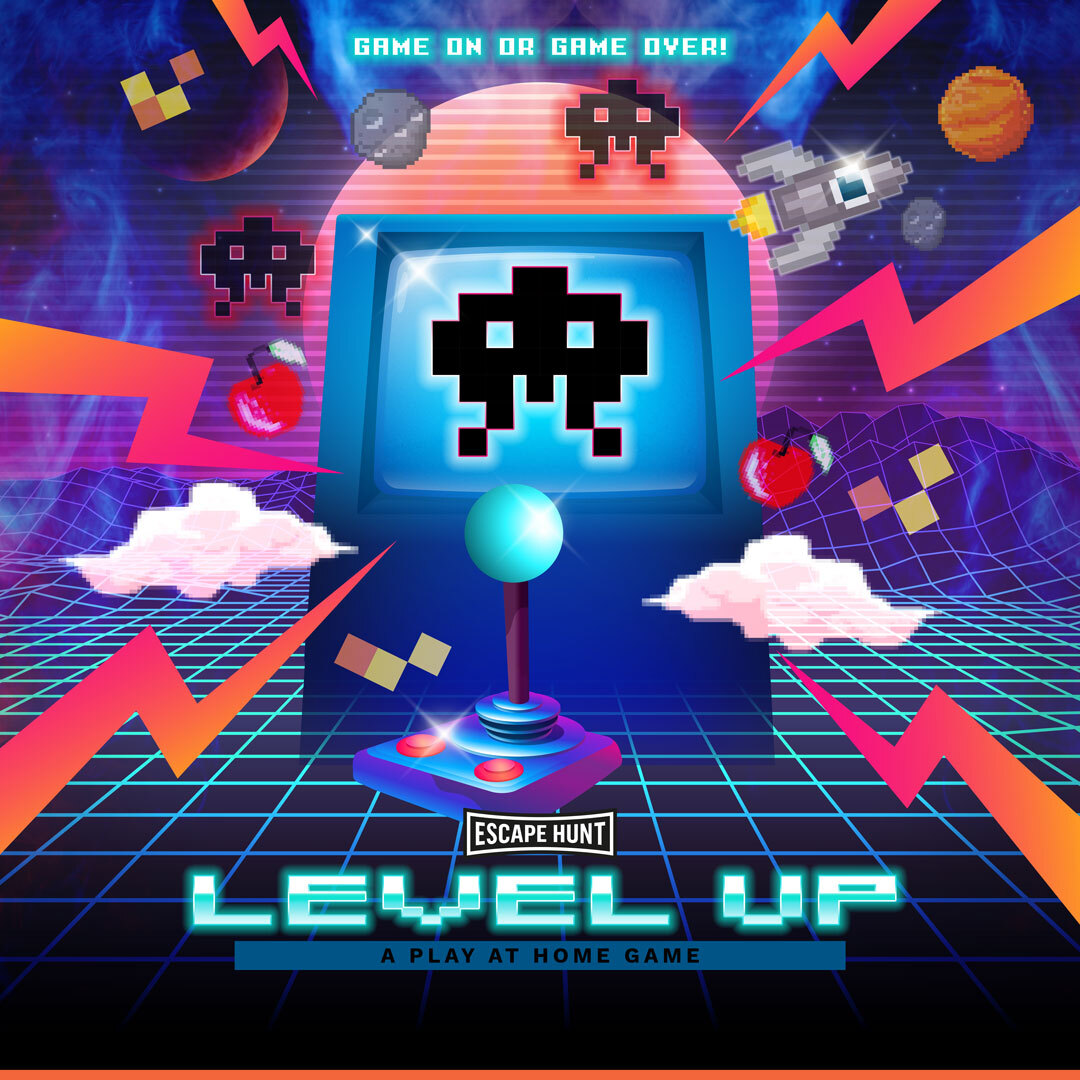 Level Up Local Games Poster