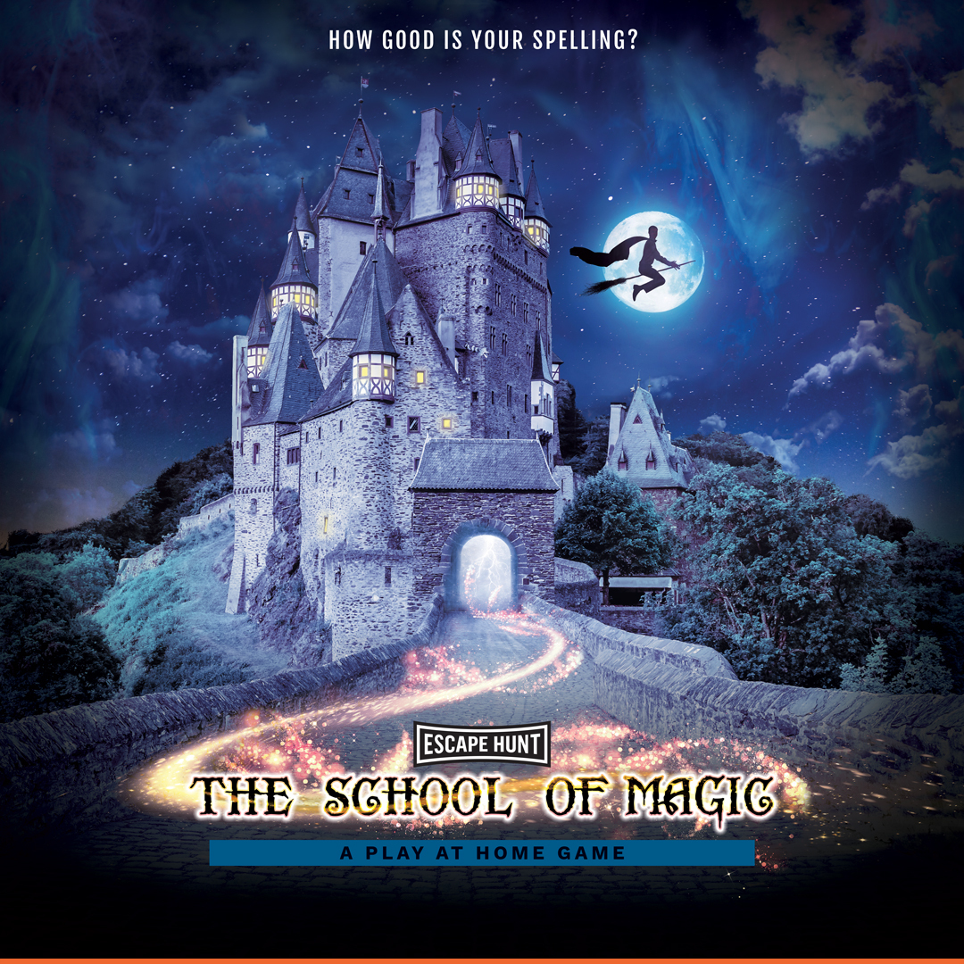 The School of Magic Local Games Poster