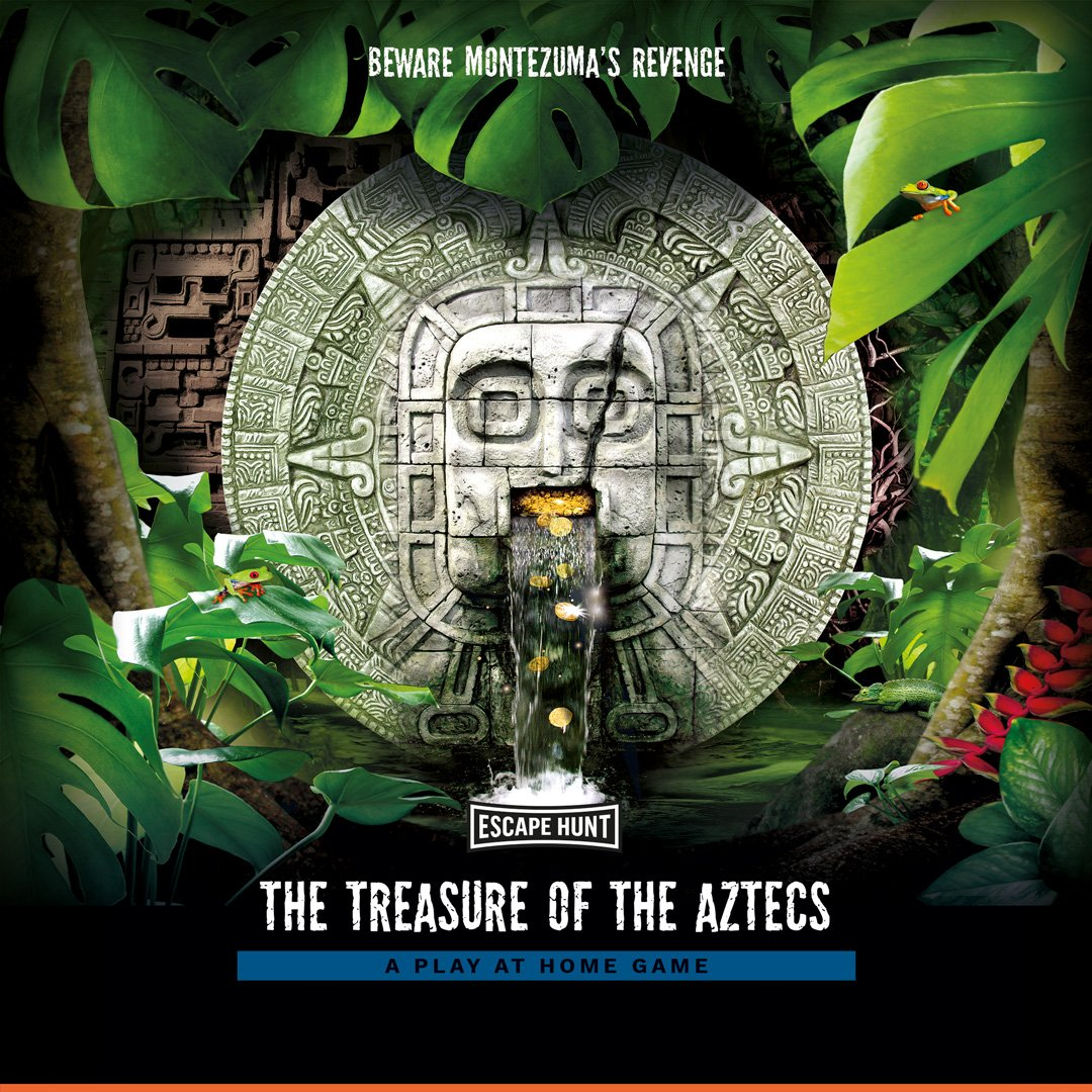 The Treasure of the Aztecs Local Games Poster