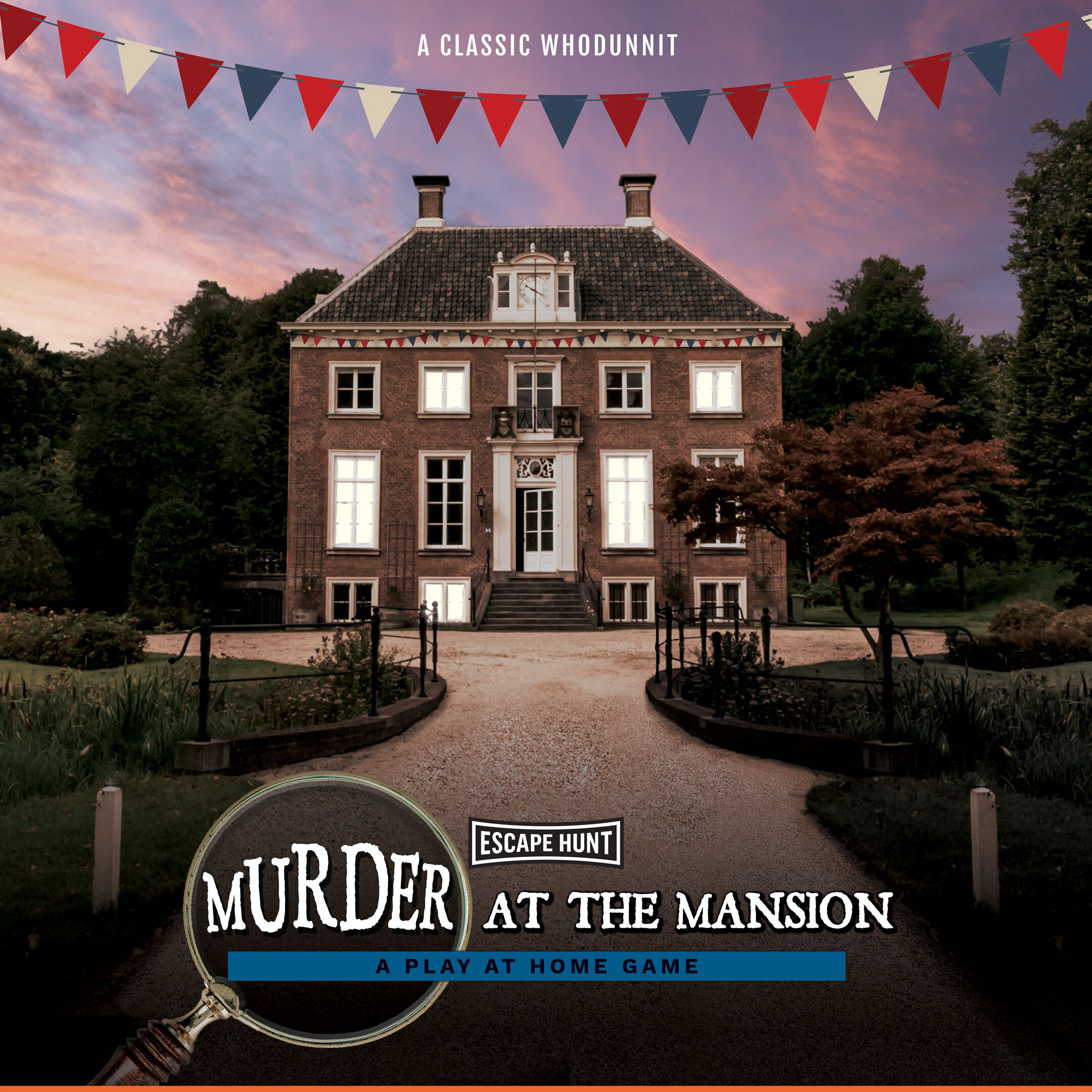 Murder In The Mansion Local Games Poster