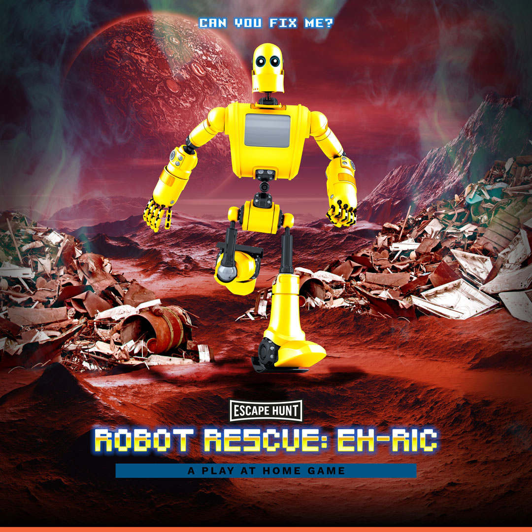 Robot Rescue: EH-RIC Social Games Poster