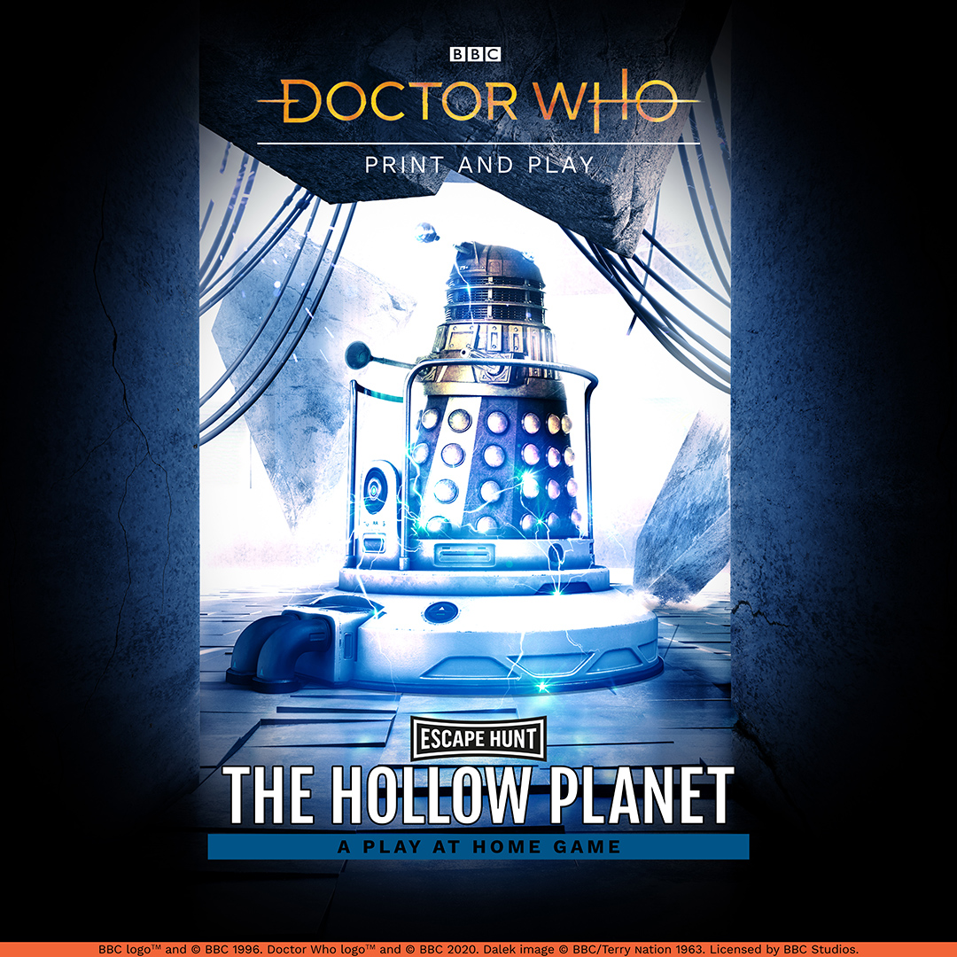 Doctor Who: The Hollow Planet Social Games Poster