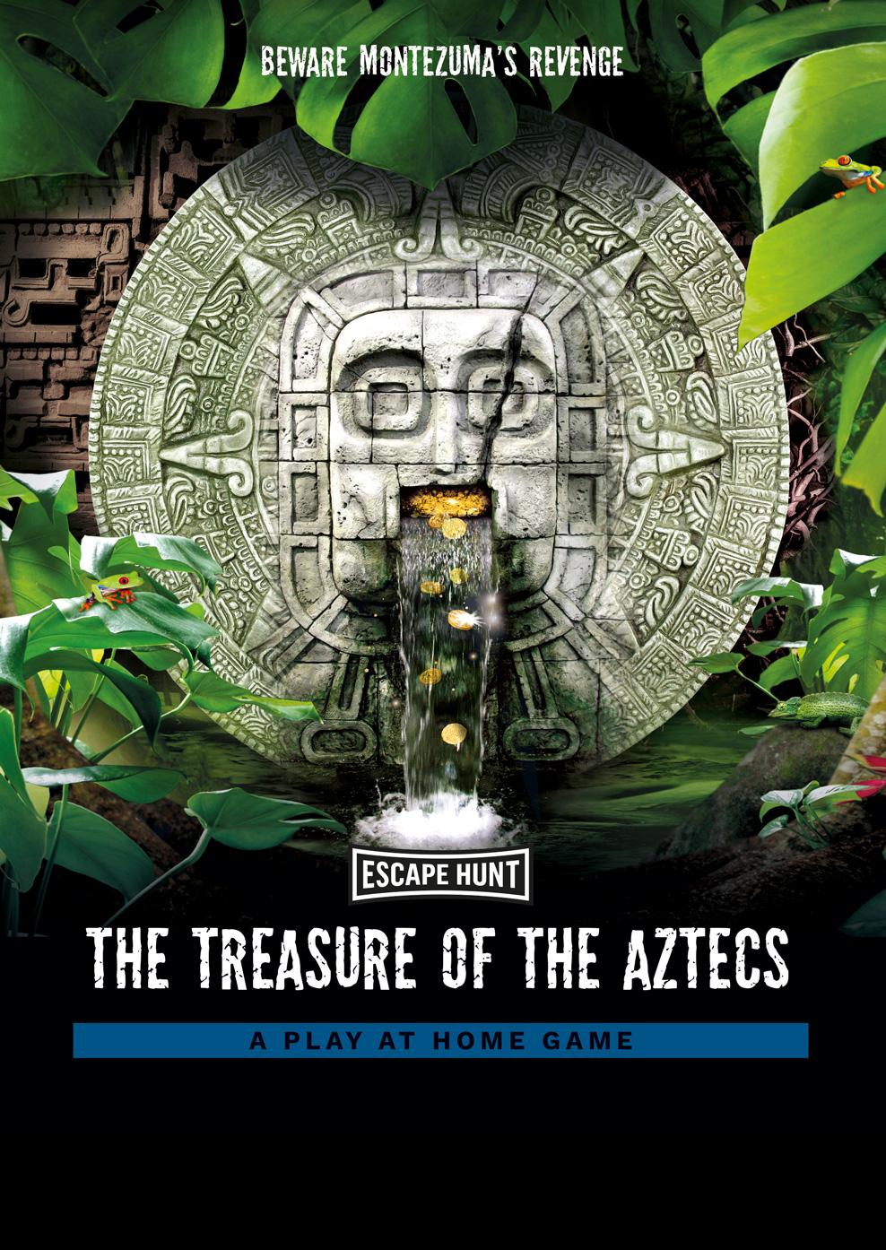 Aztecs Local Games Poster