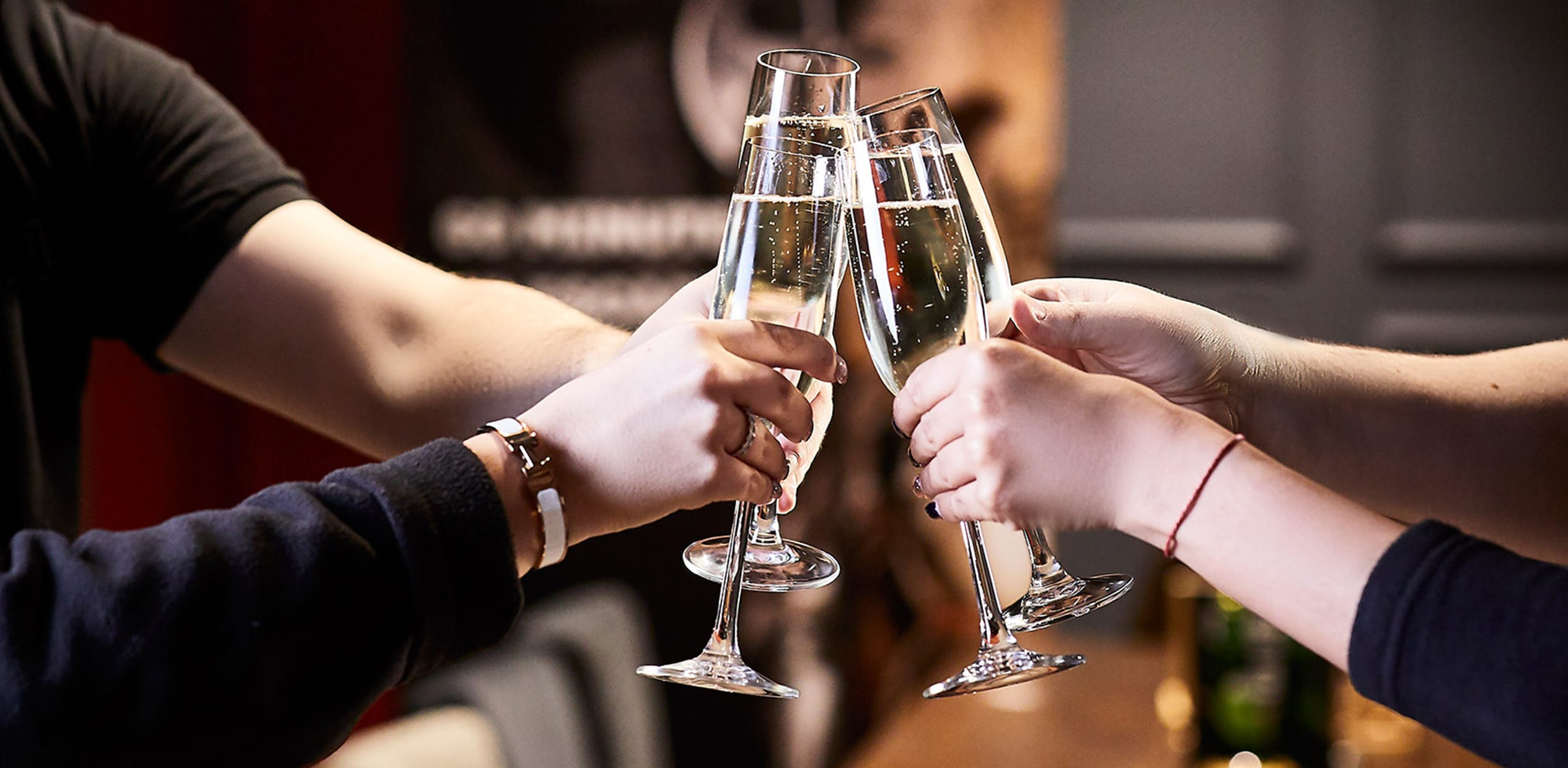 Free Prosecco this January