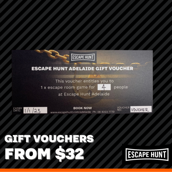 Escape Hunt Gift Vouchers