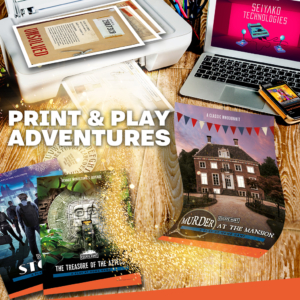 Escape Hunt Adelaide print and play games christmas gift idea