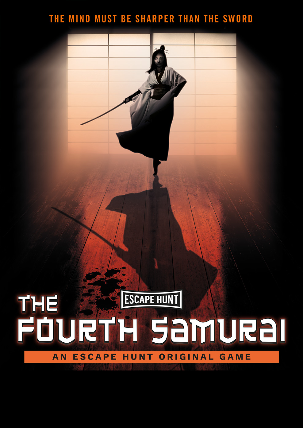 The Fourth Samurai - 5-Star Rated Escape Room Game | Escape
