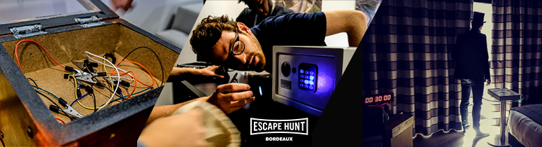 Solutions d'escape game mobile en France par Escape Hunt