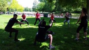 Activité sportive sur Bordeaux